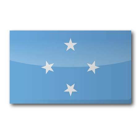Flag Micronesia Stock Vector - 16908434
