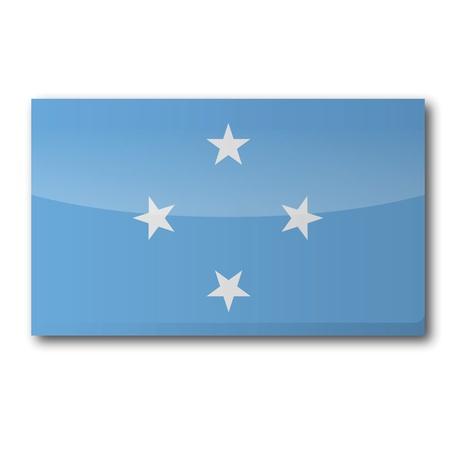 Flag Micronesia Stock Vector - 16908434
