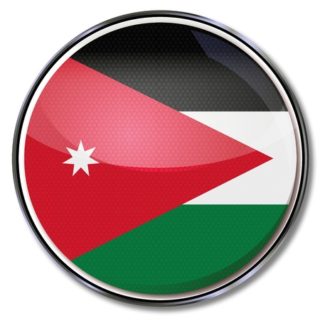 jordan: Button Jordan Illustration