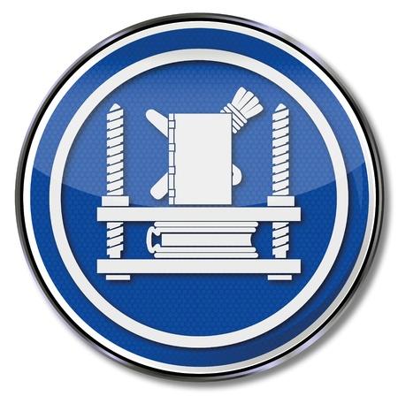 Guild sign bookbinder