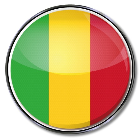mali: Button Mali Illustration