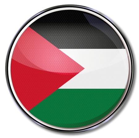 southwest asia: Button Palestine