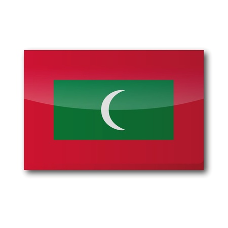 Flag Maldives Vector