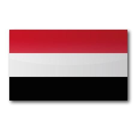 southwest asia: Flag Yemen
