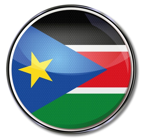 southern africa: Button Southern Sudan