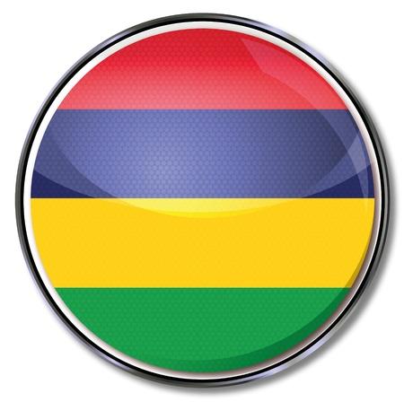 mauritius: Button Mauritius