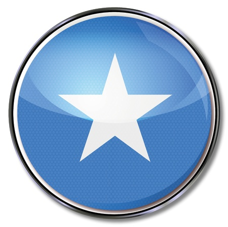 somali: Button Somalia Illustration