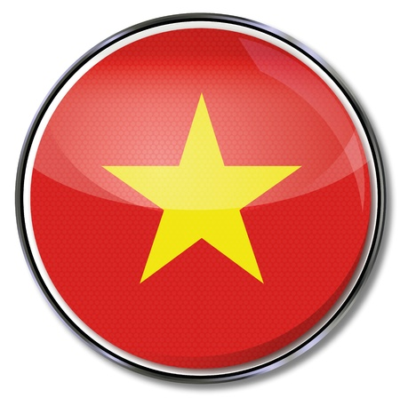 Button Vietnam Stock Vector - 17934119