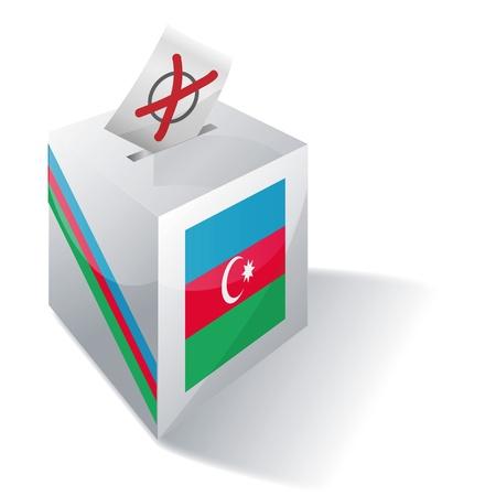 landlocked country: Ballot box Azerbaijan