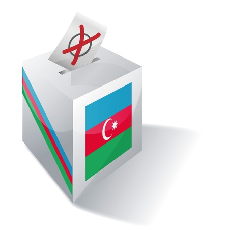 landlocked country: Urna electoral Azerbaiy�n