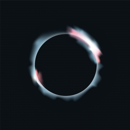 Solar eclipse and lunar eclipse Vector