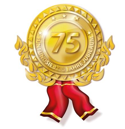 siegel: Medal seventy-five anniversary