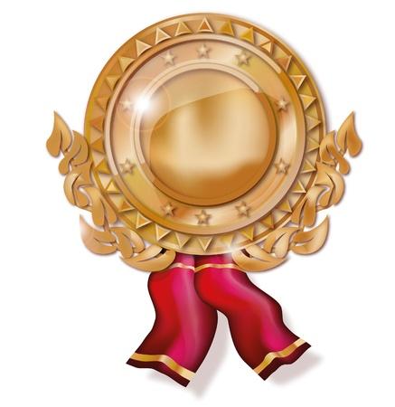 Copper medal Stock Photo - 18241025