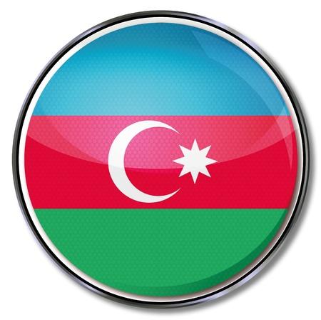 landlocked country: Bot�n de Azerbaiy�n Vectores