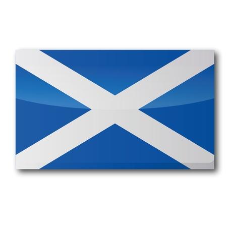 scotland flag: Flag Scotland Illustration