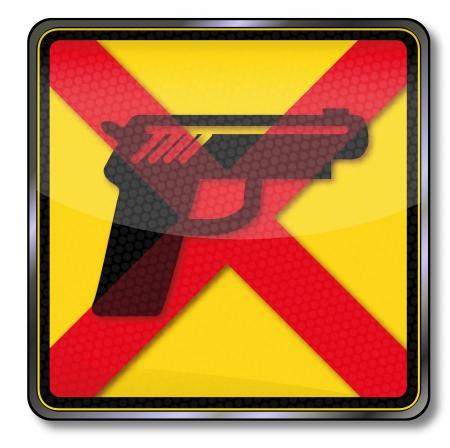 gunshot: Sign no guns