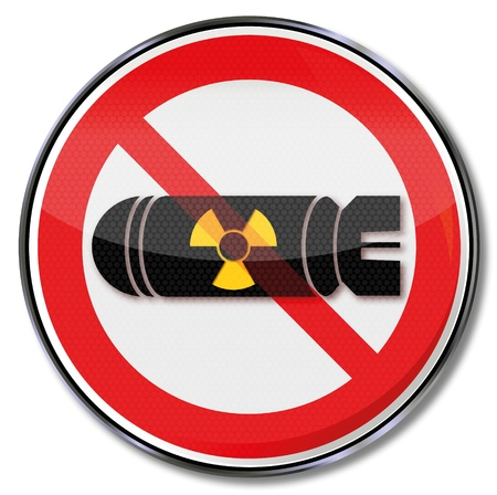 Sign atomic bomb Stock Vector - 18382830