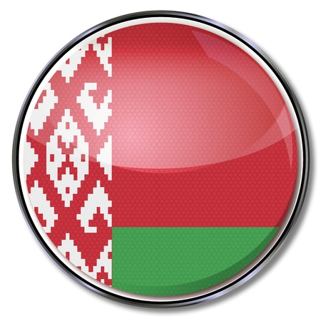 eastern europe: Button Belarus Illustration