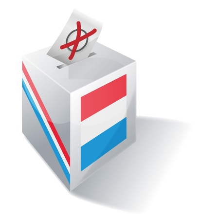 absentee voting: Ballot box Luxembourg
