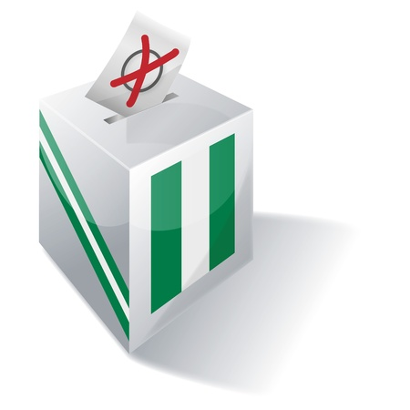 absentee voting: Ballot box Nigeria