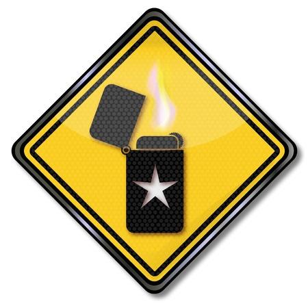 flint: Sign lighter with an asterisk