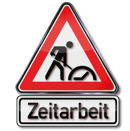 borrower: Warning sign temporary employment