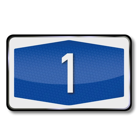 a1: Sign highway A1