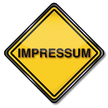 dictatorship: Sign with impressum