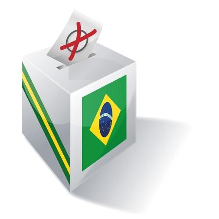 absentee: Ballot box Brazil