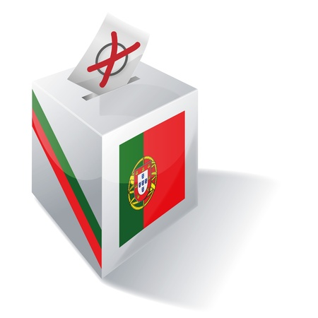 absentee voting: Ballot box Portugal
