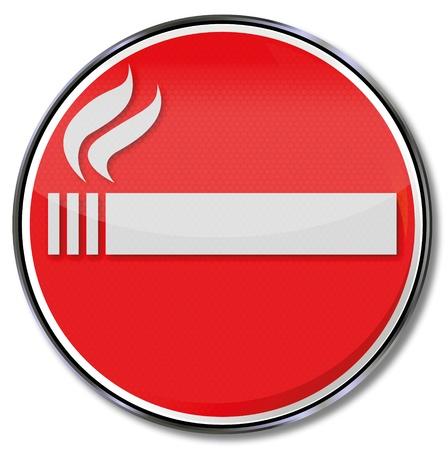 smoking ban: No smoking sign
