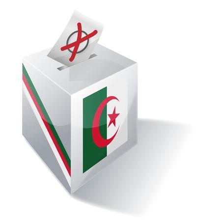 basic law: Ballot box Algeria