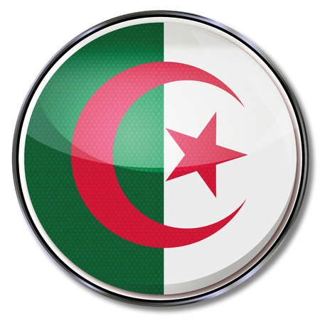 berber: Button Algeria Illustration