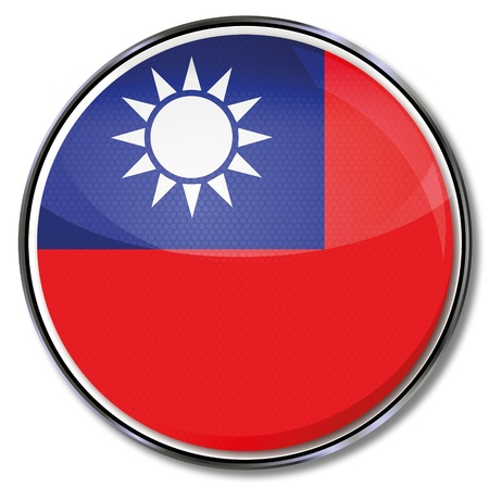 Button Taiwan Vector