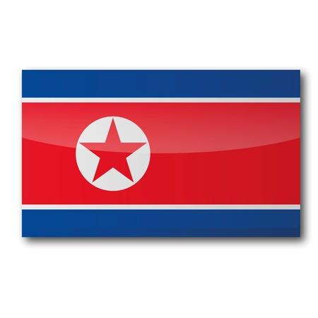dictatorship: Flag North Korea