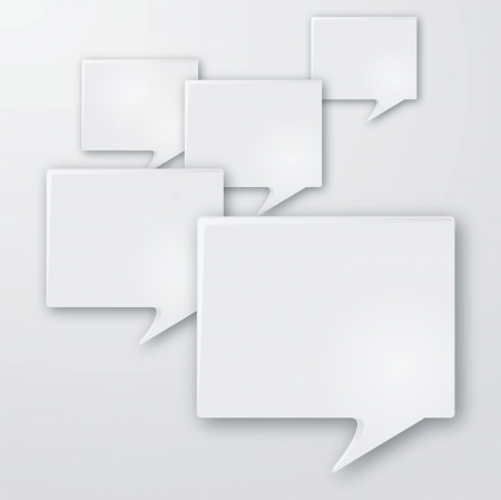Language and speech bubbles Vector