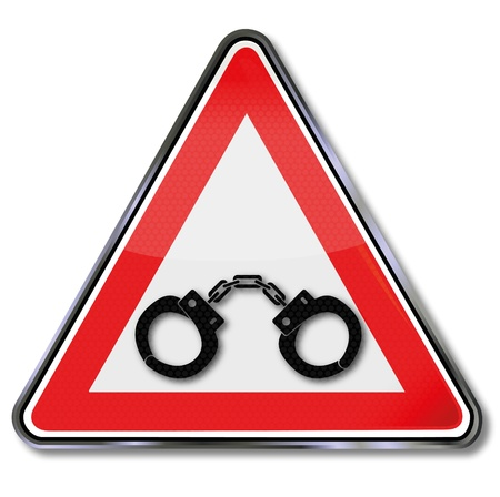 Sign handcuffs