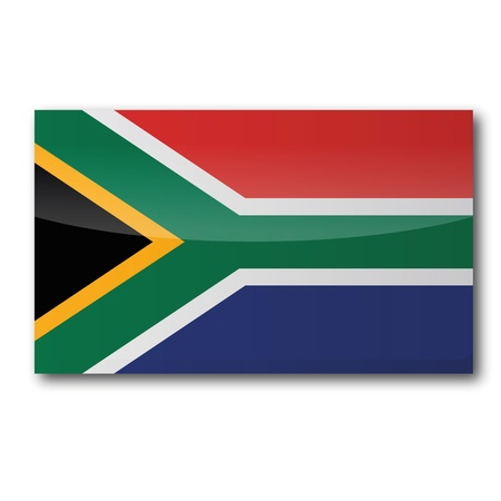 cape town: Flag South Africa