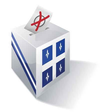 ballot box: Ballot box Quebec