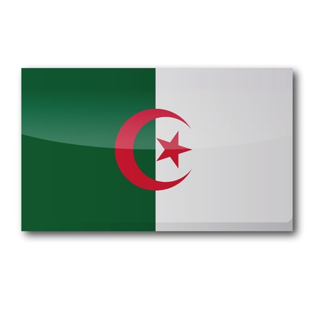berber: Flag Algeria Illustration