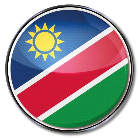Button Namibia Vector