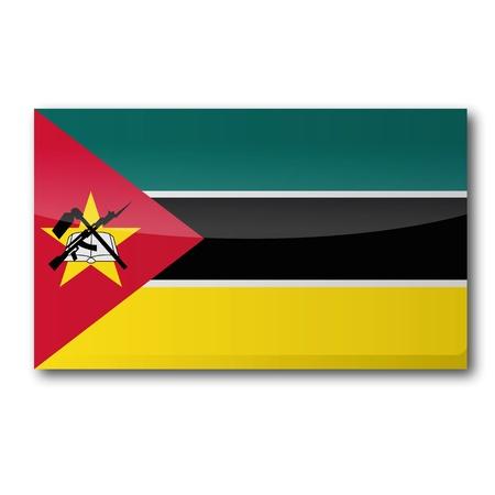 mozambique: Flag Mozambique