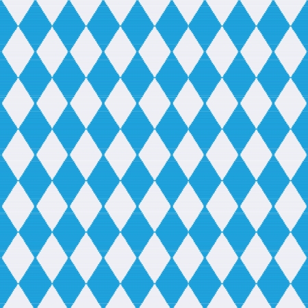 checked flag: Tablecloth with Bavaria patterns Illustration
