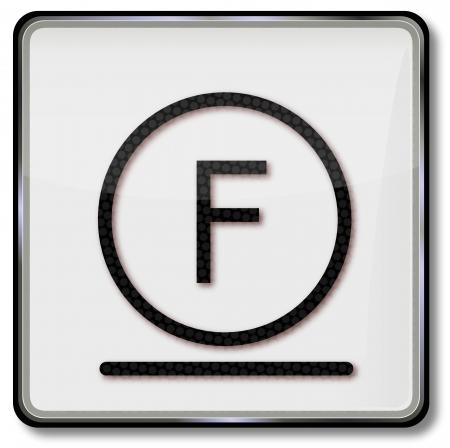 solvant: Symbole d'entretien Textile nettoyage doux avec solvant hydrocarbon�