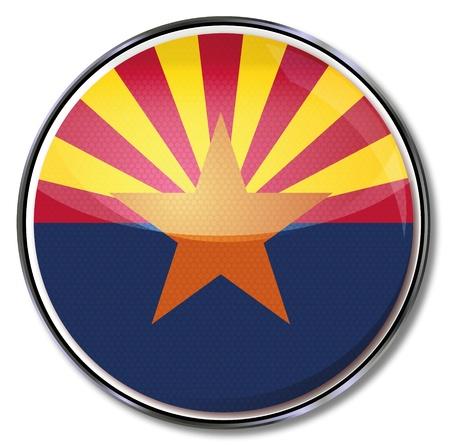 arizona: Button Arizona