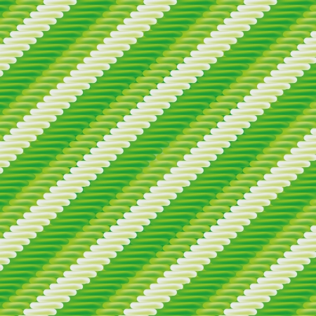 dry cloth: Green fabric with stripe pattern