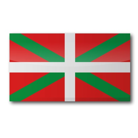 bilbao: Flag Basque Country Illustration