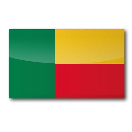 Flag Benin Vector