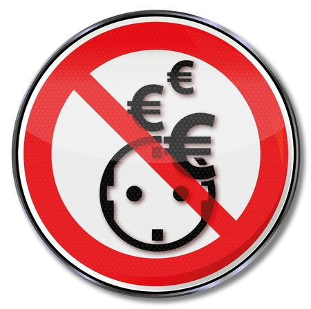 Sign, Euro, electricity, Save power and energy systems Stock Vector - 21453195
