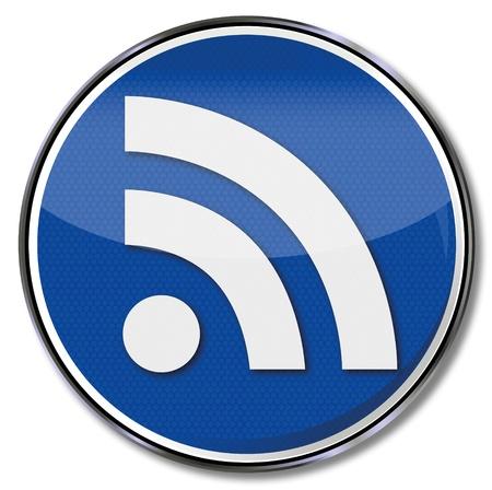 syndication: Entrar RSS, sindicaci�n realmente simple RSS Vectores